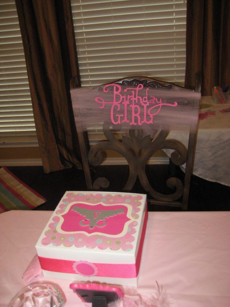 Birthday Girl Chair