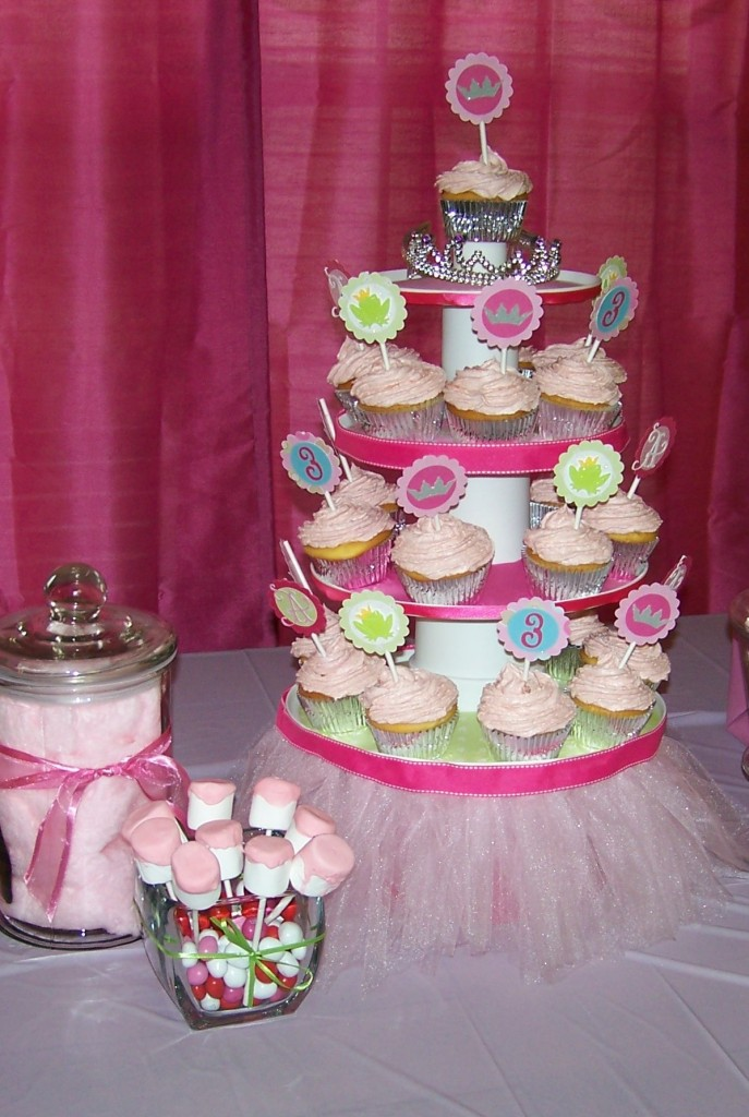 Cupcake Tower & Candy