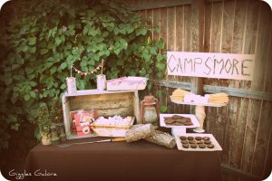 Camp S'more Party {National S'mores Day}