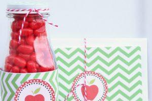 Candy Apple Teacher Gifts