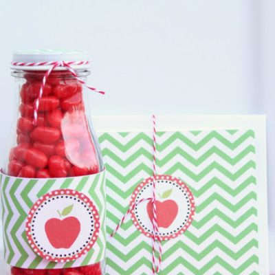 Candy Apple Teacher Gifts