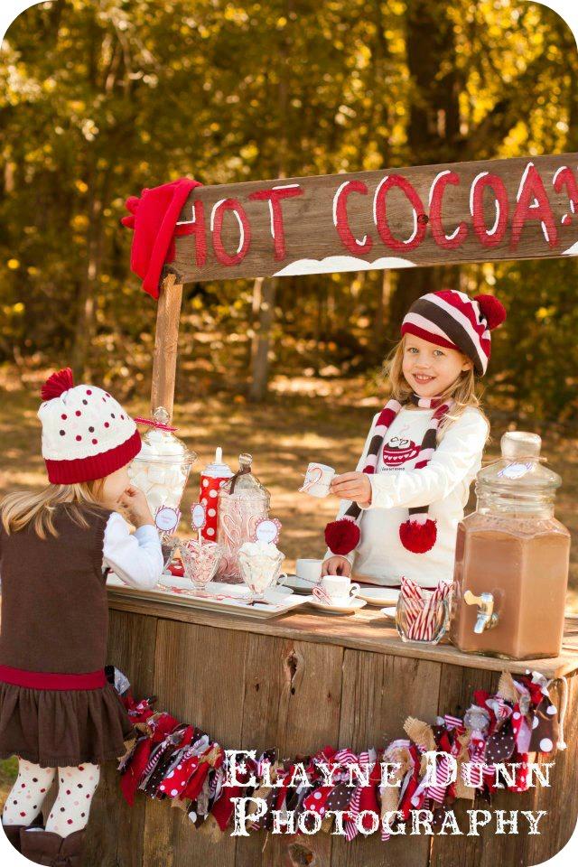 Aubrey Serving Cocoa