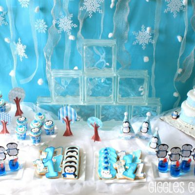 Penguins & Polar Bears Winter ONEderland {Birthday Party}