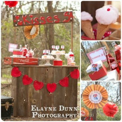 Valentine's Kissing Booth {Party}