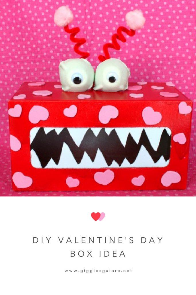 Diy valentines day box idea