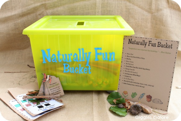 Naturally fun bucket