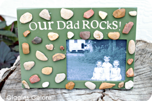 Our Dad Rocks Frame
