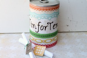 Tin for Ten – A 10th Anniversary Gift