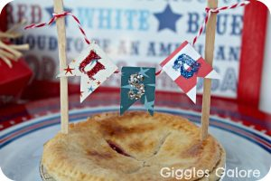 4th of July Mini Pie Bunting