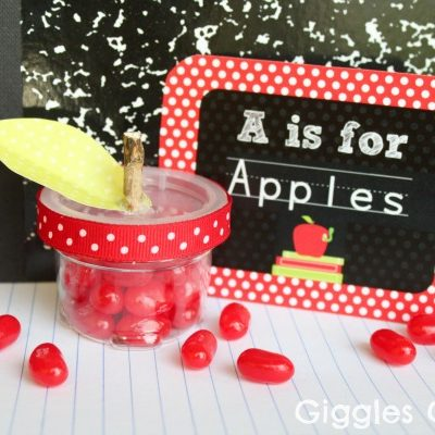 Back to School Apple Candy Treats