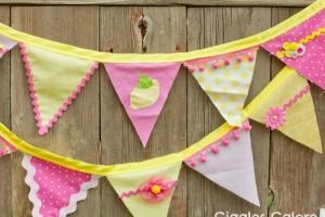 Lemonade Stand Fabric Banner