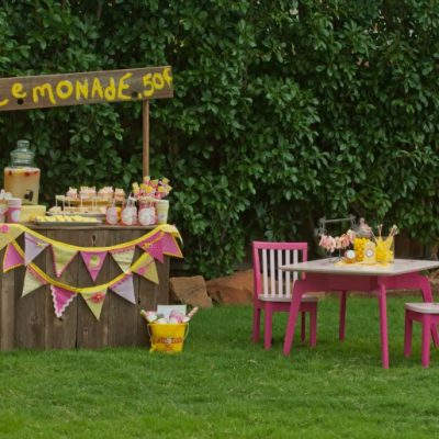 Lemonade Stand Party Featured on Amy Atlas Events