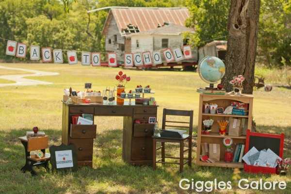 Calling All Bookworms For A Back To School Party Giggles Galore