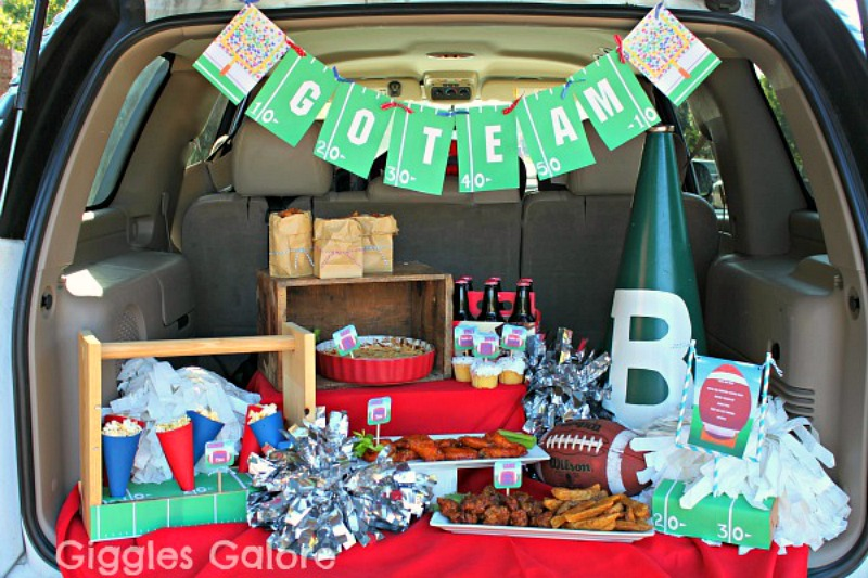 Giggles Galore Game Day Tailgate Party