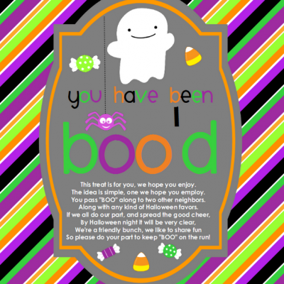 You Have Been Boo'd