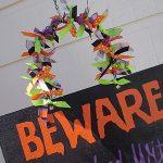 Beware Halloween Sign
