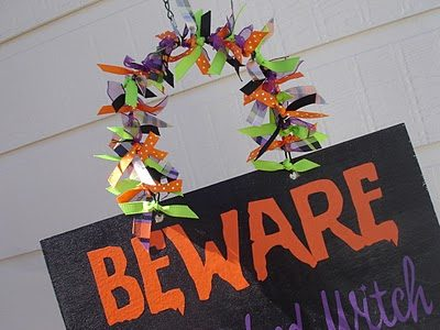 Beware Halloween Sign