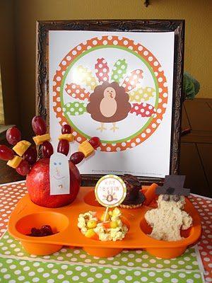 Muffin Tin Monday – Thanksgiving Theme