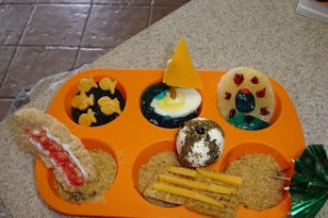 Muffin Tin Monday- Beach Theme