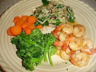 Spicy Shrimp & Orzo Salad