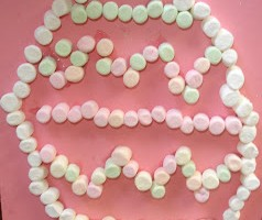 Marshmallow Easter Egg