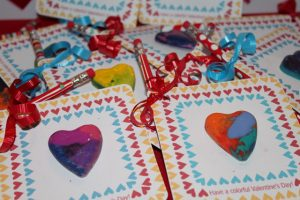 Colorful Valentine's Day