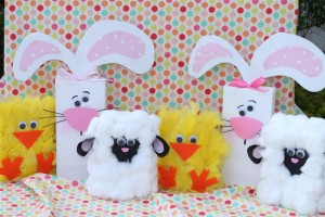 Spring Chick, Lamb & Bunny 2×4's