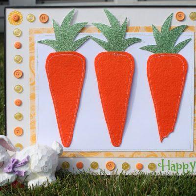 Easter Carrot Decor