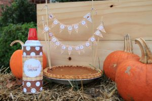 Pumpkin Pie and Mini Bunting
