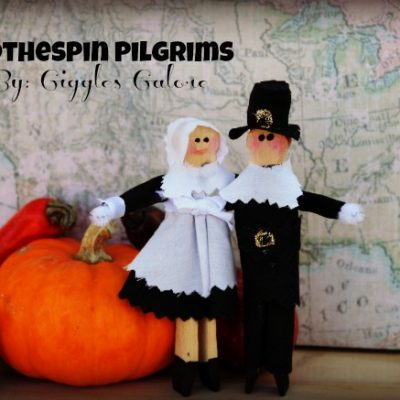 Clothespin Pilgrims