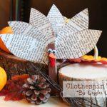 Clothespin Turkey Craft