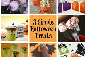 8 Simple Halloween Treats