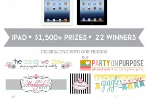 DimplePrints Four Year Anniversary Giveaway