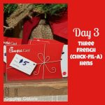 12 Days of Christmas Service {Day 3} Three French Hens
