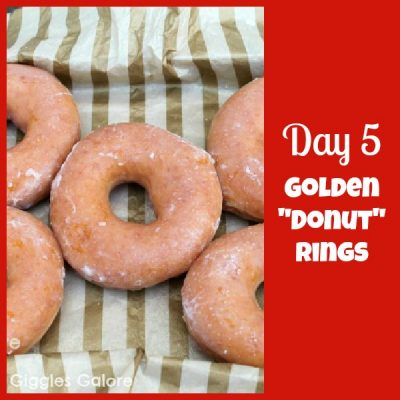 12 Days of Christmas Service: {Day 5} Five Golden Donut Rings