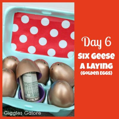 12 Days of Christmas Service {Day 6} Six Geese A Laying