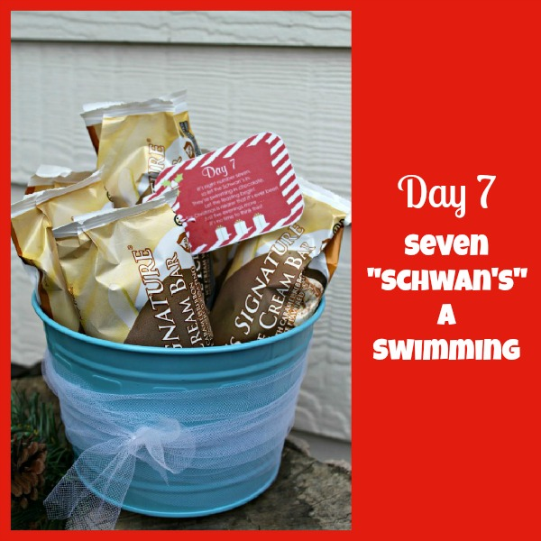 Day 7 seven schwans swimming giggles galore2
