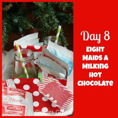 12 Days of Christmas Service {Day 8} Eight Maids A Milking