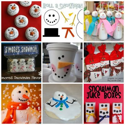 Snowman Party Inspiration Board