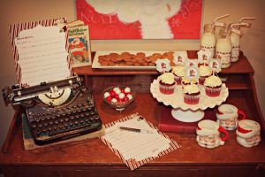 Vintage+Letters+to+Santa+Party