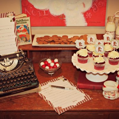 Letters to Santa Party