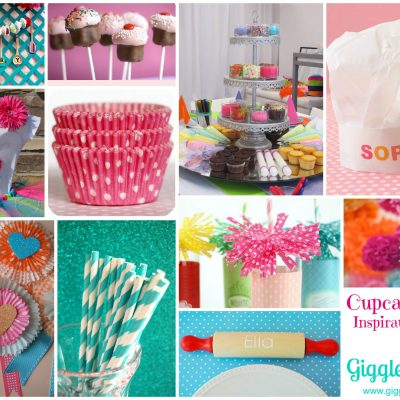 Cupcake Party Inspiration Board