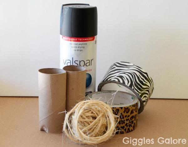 Diy safari binoculars supplies