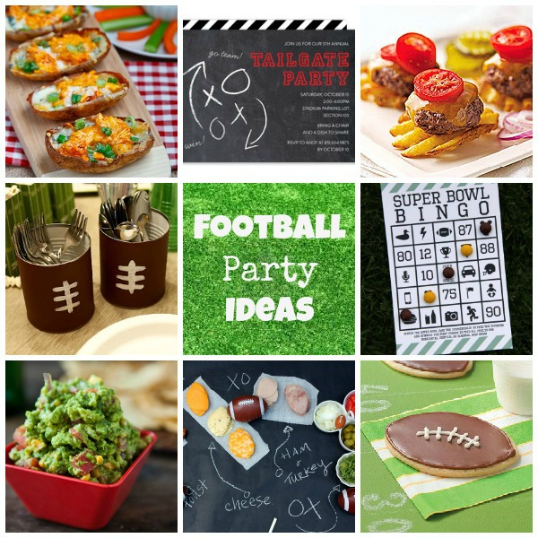 Football party ideas super bowl