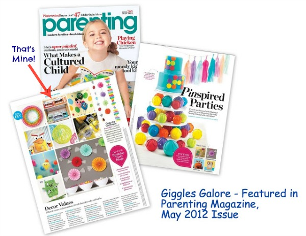 Giggles galore parenting magazine feature1