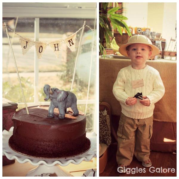 Safari adventure cake