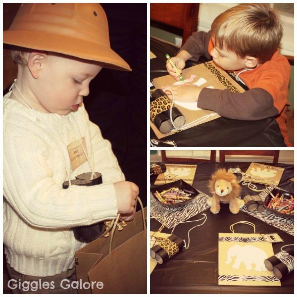 Safari adventure and craft