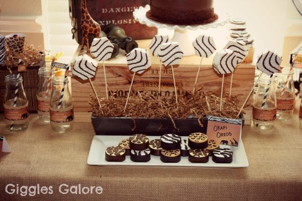 Safari sweets