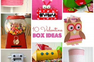 10 Valentine Box Ideas