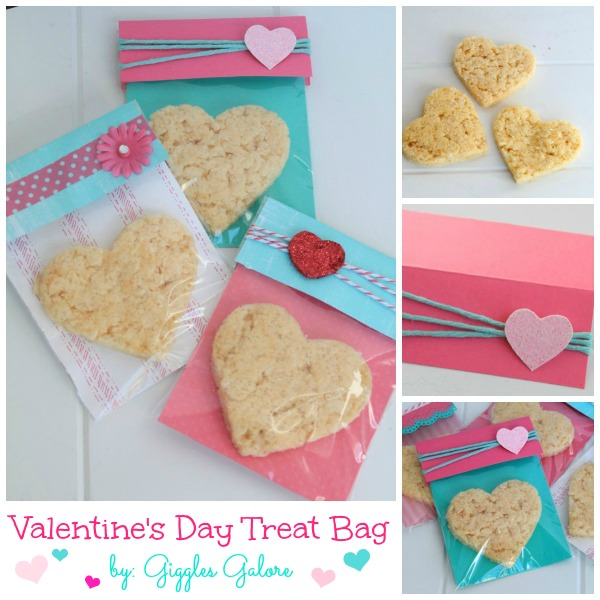 Valentine S Day Treat Bags Giggles Galore